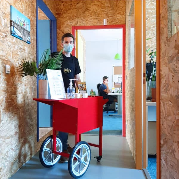 bar à jus format mobile - juju's animations