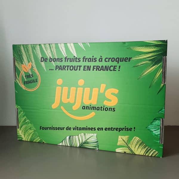 Box de fruits bureau juju's animations