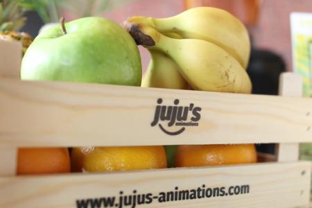 Cagette de fruits juju's animations