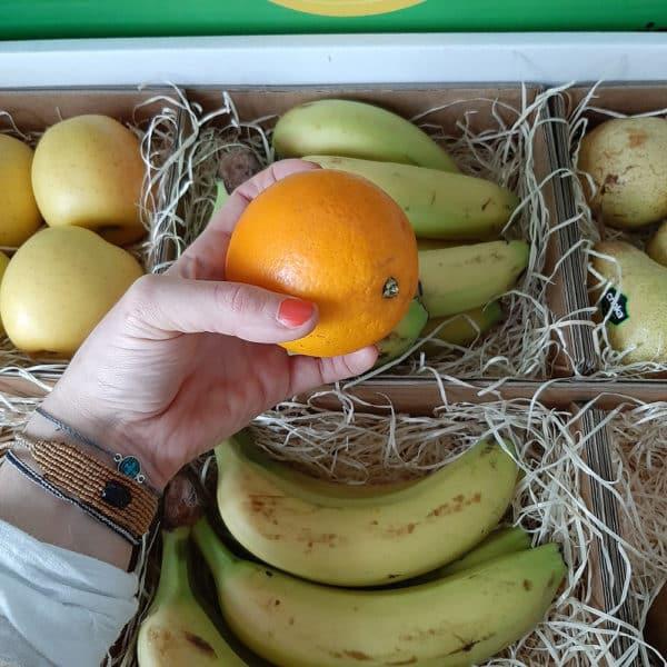 Livraiosn corbeille de fruit entreprise