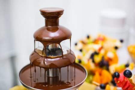 animation fontaine chocolat événementiel