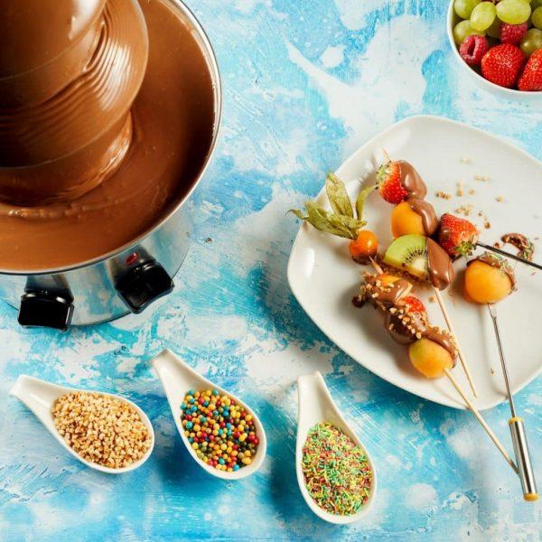 Animation Fontaine à Chocolat