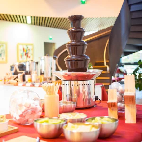 fontaine chocolat noel entreprise
