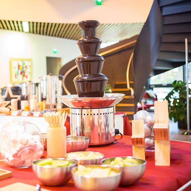fontaine chocolat pour noel