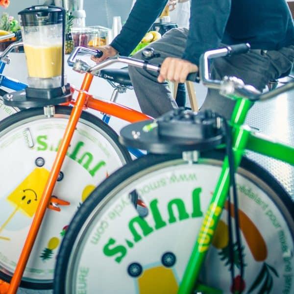 vélo smoothie matériel