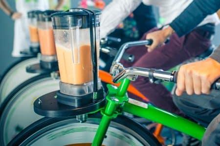 vélo smoothie blender matériel