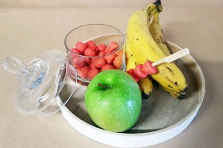pomme banane fraise