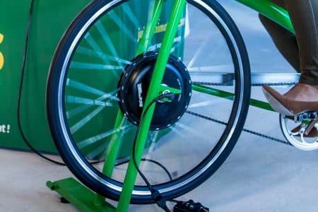 roue vélo smoothie