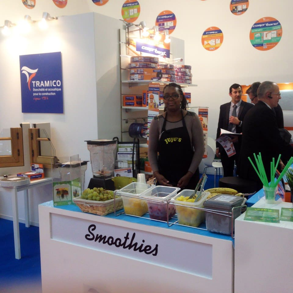 stand de smoothies