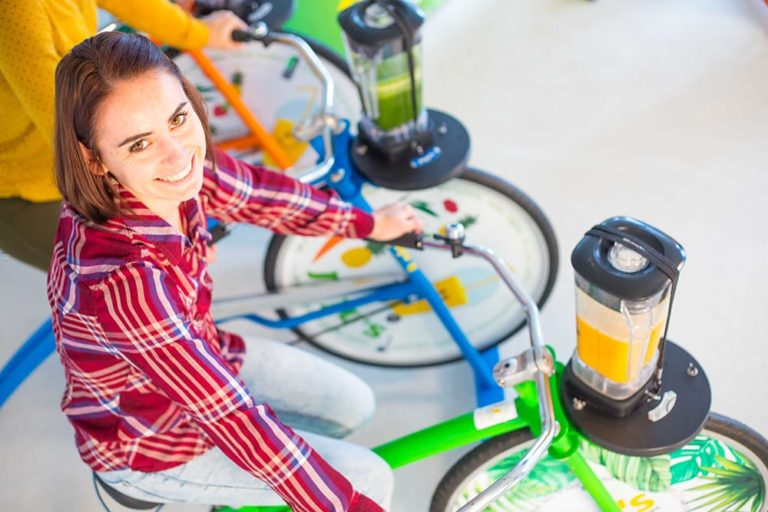 vélo à smoothie smoocycle