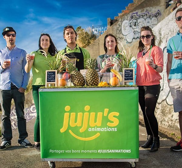 stand de smoothies juju's animations