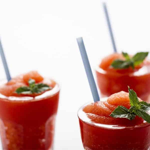 granitas à la fraise