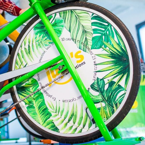 roue personnalisée juju's animations