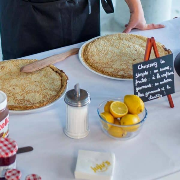 stand crepe magasin