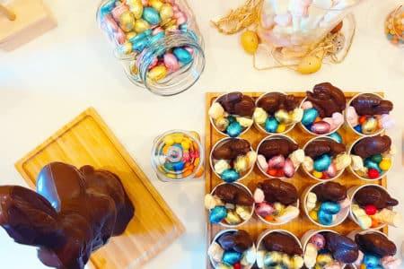 sélection candy bar paques