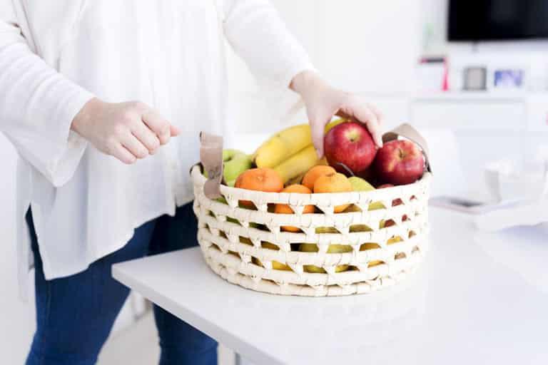 corbeille de fruit ua bureau