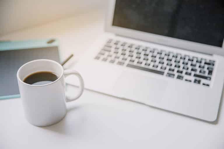 mug au bureau