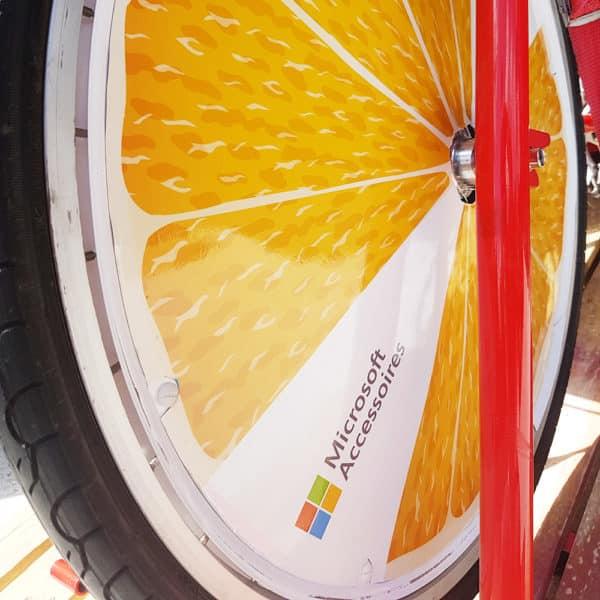 roue personnalisée