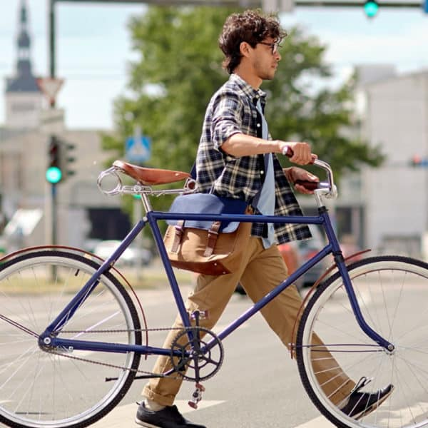 cycliste semaine de la mobilité 2019