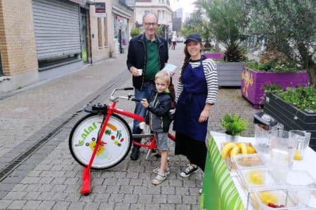 Smoocycle street marketing