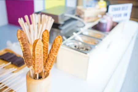 stand gaufre sucette