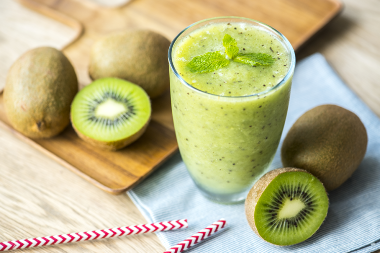smoothie hiver kiwi