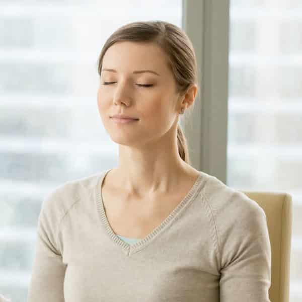 exercice de respiration en entreprise