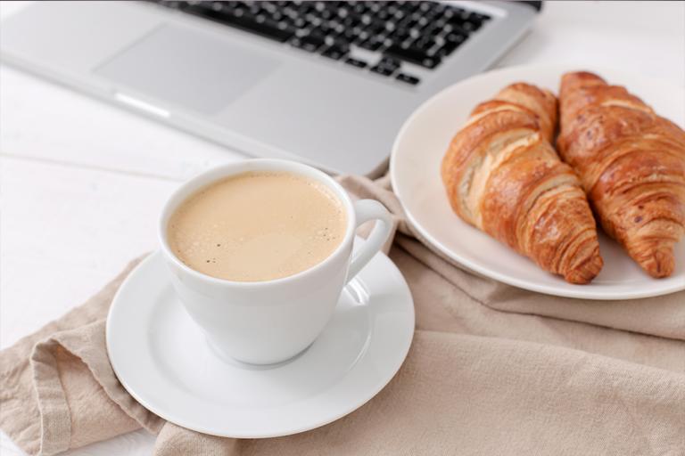 café croissant entreprise