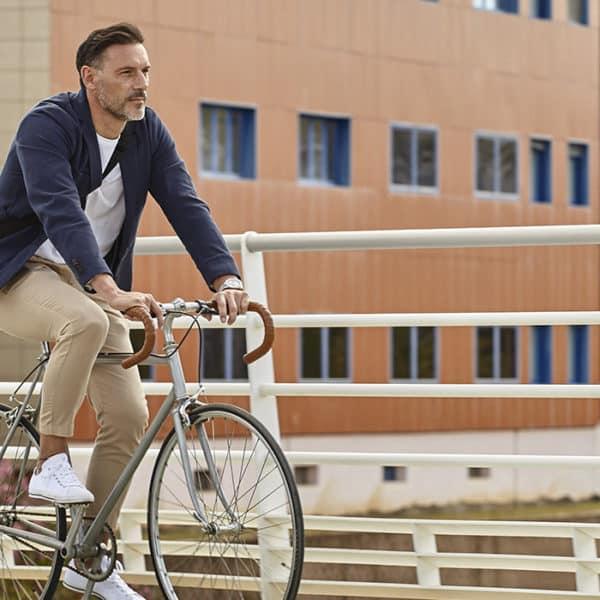 cycliste semaine de la mobilité 2021