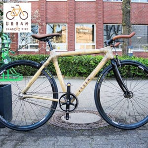 Vélo en bambou ou en bois - URBAM BAMBOO BIKES