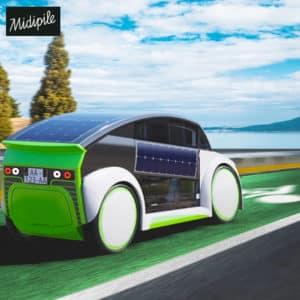 MIDIPILE - vélos à assistance électrique - voiture à pédales pour aller au travail
